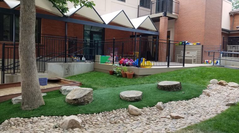 Outdoor Learning area August 2020