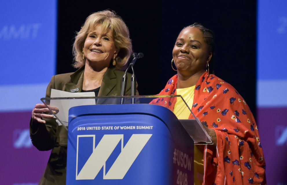 Two speakers at USOW Conference