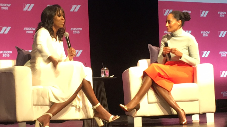 Michelle Obama at United States of Women Summit