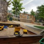New outdoor learning space