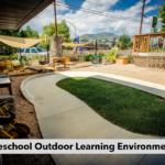 Preschool Outdoor Learning Environment