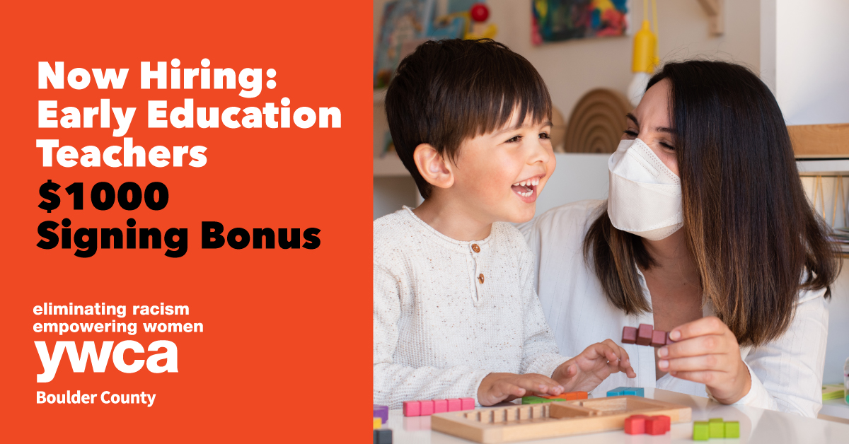 Hiring Ad for Persimmon Early Learning