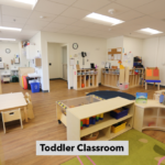 Classroom for toddlers