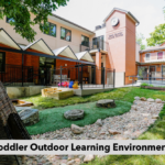 Toddler Outdoor Learning Environment