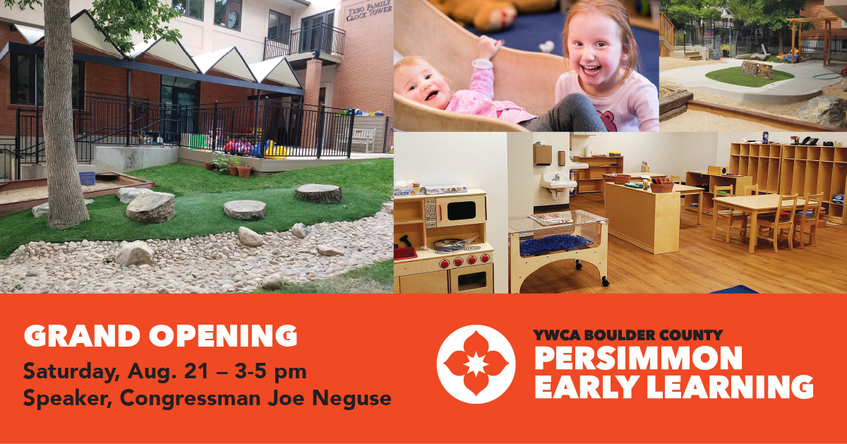 Persimmon Early Learning Grand Opening Invitation
